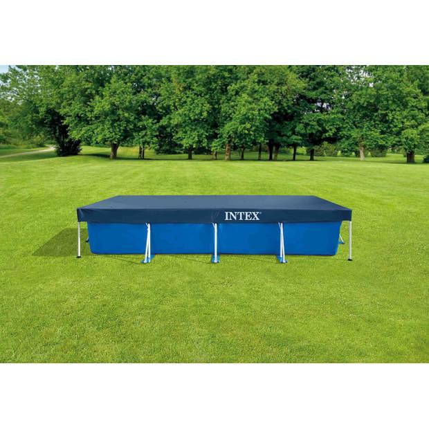 Intex Frame Pool Rechthoekig 450x220x84 cm - Alles in 1 Zwembad Pakket