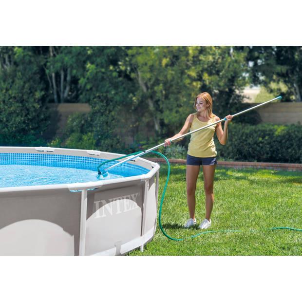 Zwembad Set - 7-delig - Intex Frame Pool Rechthoekig 450x220x84 cm
