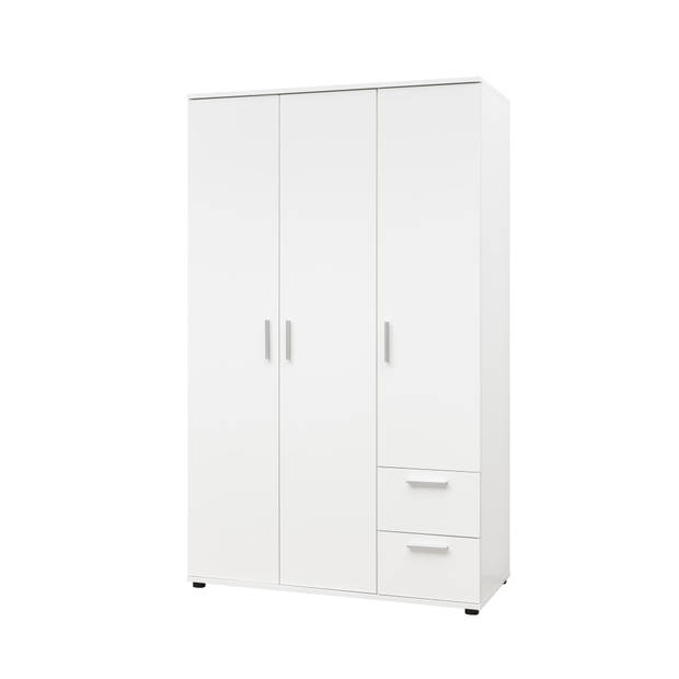Kledingkast Bibo 3 deurs Wit