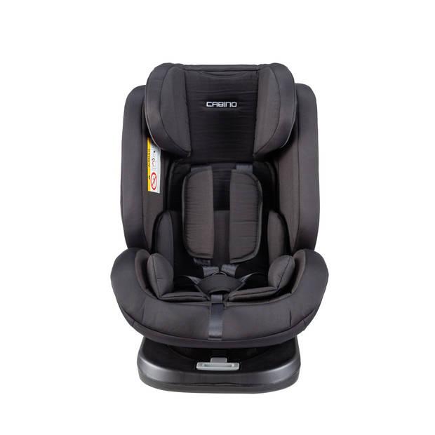 Cabino Autostoel Groep 1/2/3 Kiddo Black
