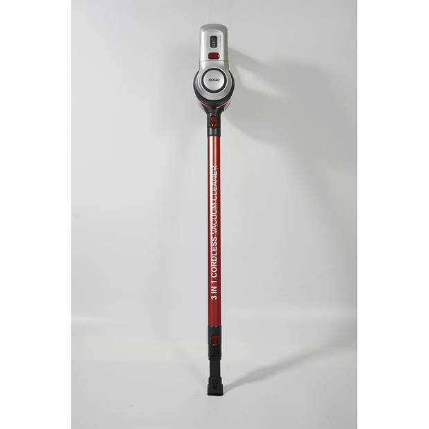 Sogo snoerloze steelstofzuiger asp-ss-16170 3-in-1 met dweilfunctie
