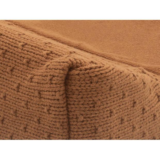 Jollein Aankleedkussenhoes Bliss Knit Caramel 50 x 70 cm