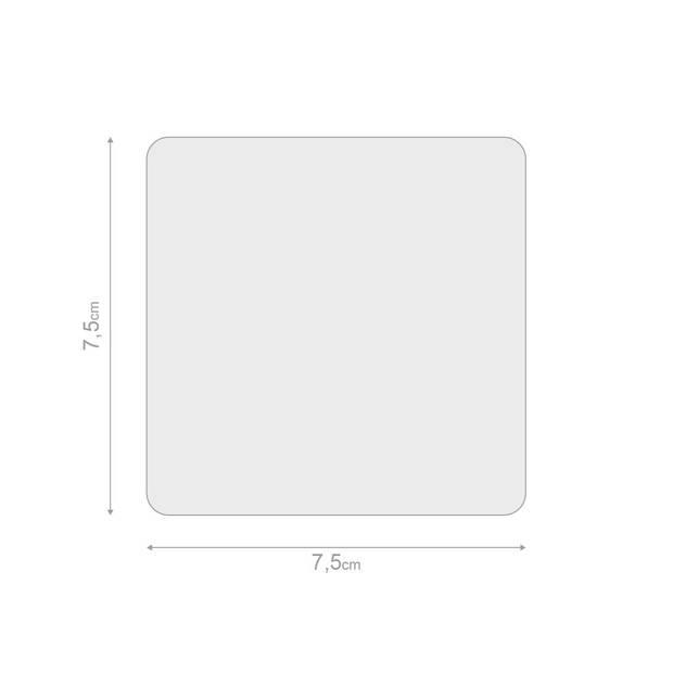 Balvi notitieblok 3D Envelop 7,5 cm papier geel