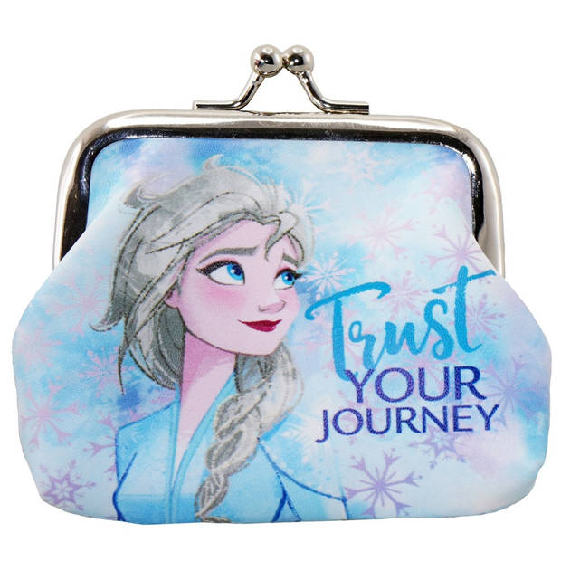 Disney sleutelhanger Frozen II Trust 9 cm meisjes lichtblauw