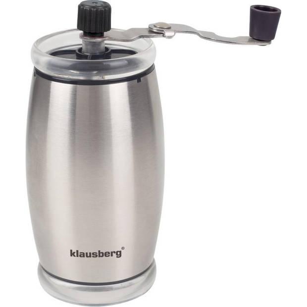 Klausberg 7249 - Koffiemolen - Handmatig - RVS