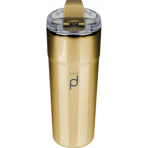 Vacuum Thermosbeker, 0.5 L, Metallic Goud - Pioneer