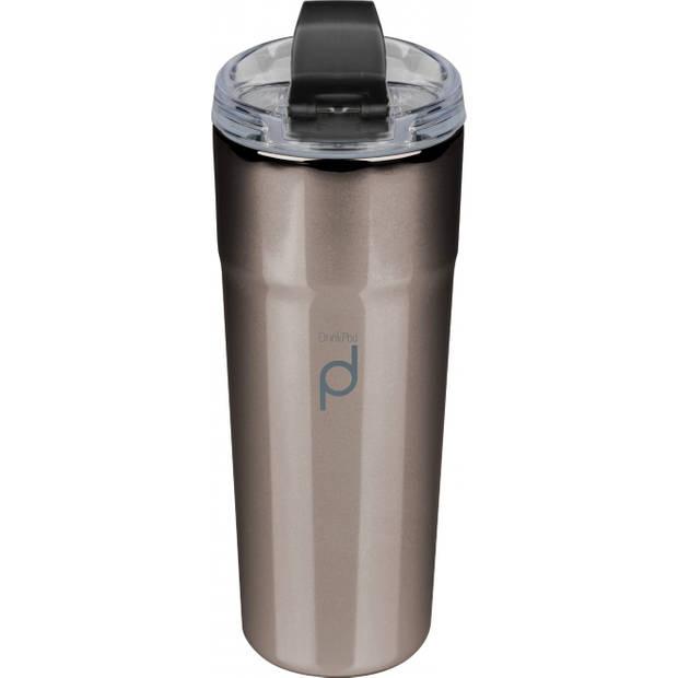 Vacuum Thermosbeker, 0.5 L, Metallic Zwart - Pioneer