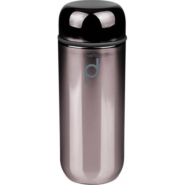 Vacuum Thermosbeker, 0.2 L, Metallic Zwart - Pioneer