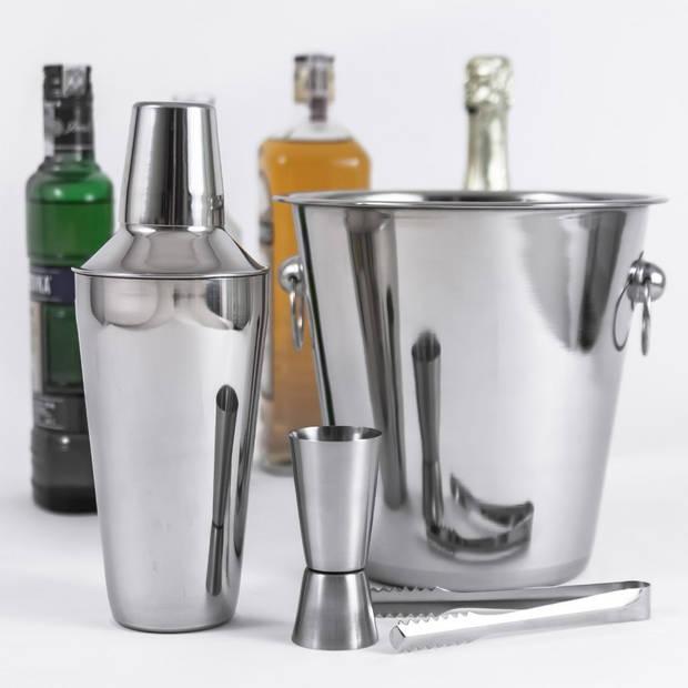 Kinghoff 1389 - 5 delige barman set - cocktail mixer
