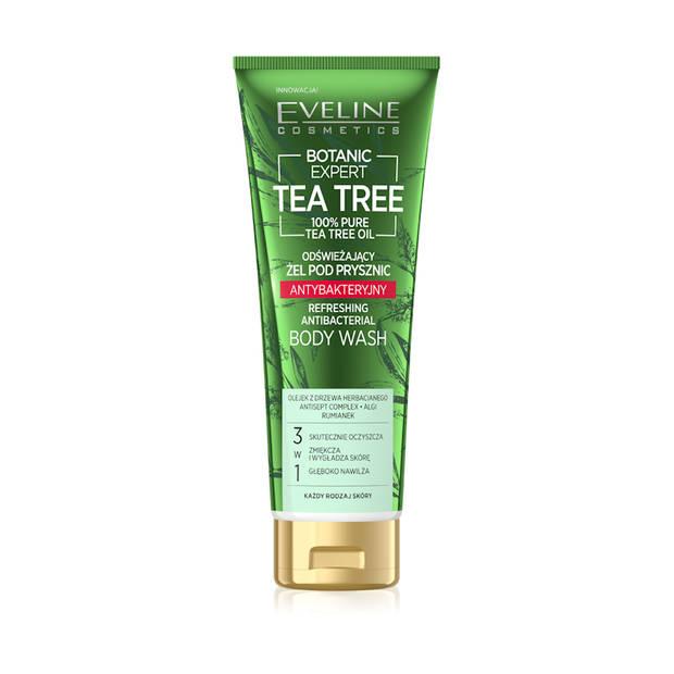 Eveline Cosmetics Botanic Expert Tea Tree Refreshing Body Wash Gel 250ml.