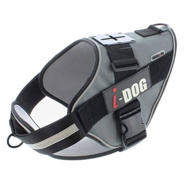 I DOG Néocity Harness - Maat XL - Zwart en grijs - Voor hond