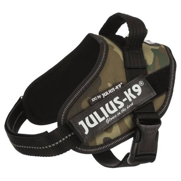 JULIUS K9 krachtharnas IDC Mini-Mini-S: 40-53 cm - 22 mm - Camouflage - voor hond