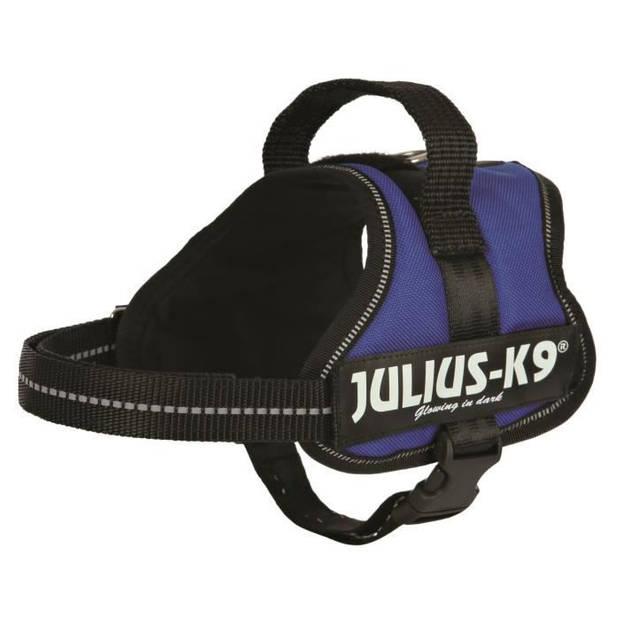 Julius K9 Power Harness - Mini-Mini - S: 40-53 cm-22 mm - Blauw - voor hond