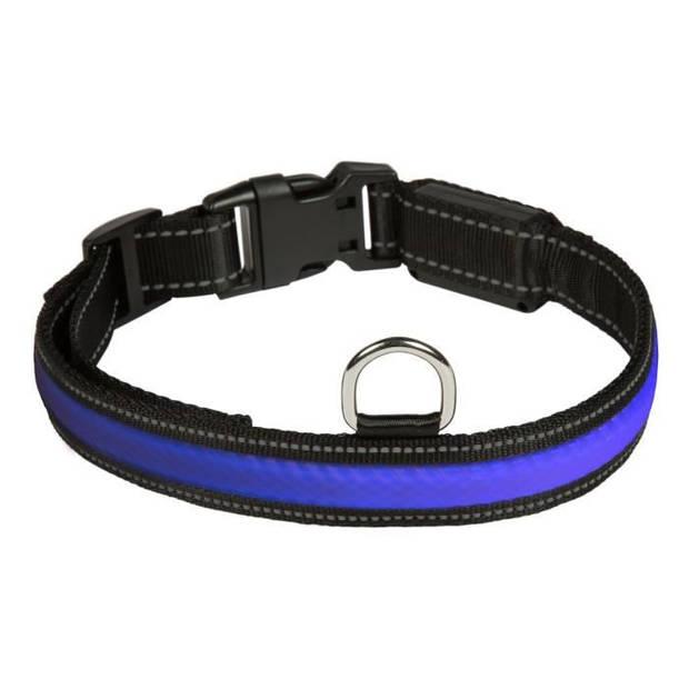 EYENIMAL RGB Light-halsband - Maat M - Voor hond