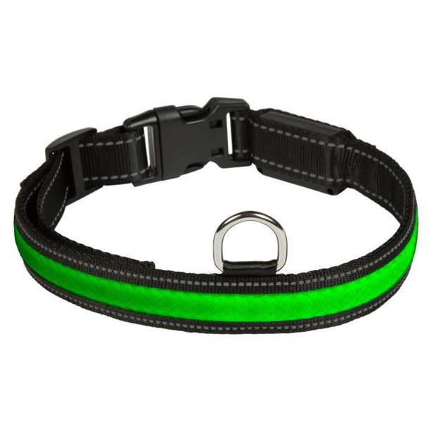 EYENIMAL RGB Lichtgevende halsband - Maat L - Voor hond
