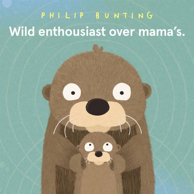 Wild enthousiast over mama's