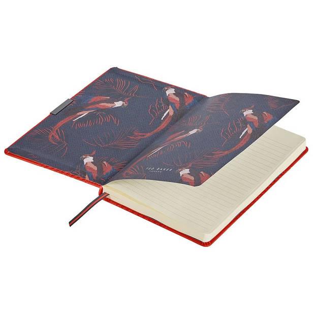Wild & Wolf notitieboek Ted Baker A5 papier/kunstleer oranje