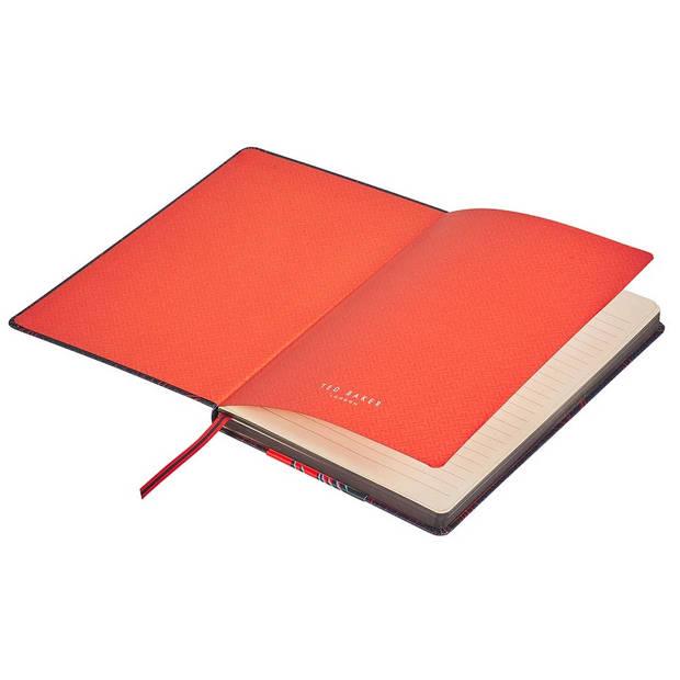 Wild & Wolf notitieboek Ted Baker A5 papier/kunstleer