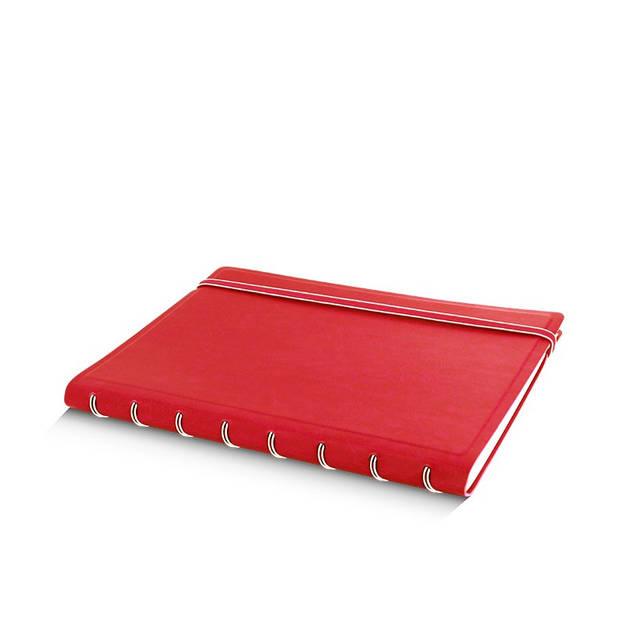 Filofax notitieboek Classic A5 papier/kunstleer rood