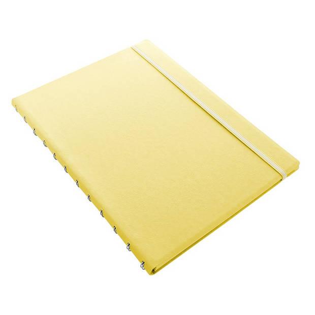 Filofax notitieboek Classic Pastel A4 papier/kunstleer geel