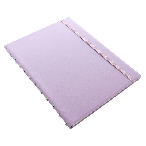 Filofax notitieboek Classic Pastel A4 papier/kunstleer paars