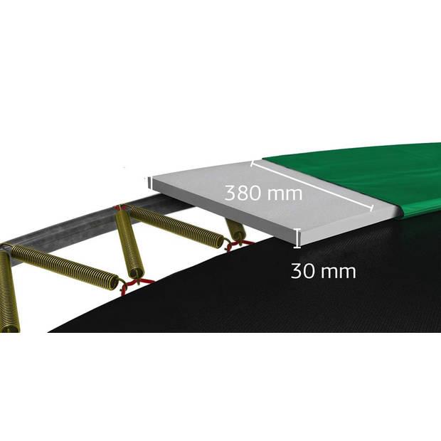 Trampoline - BERG Ultim Champion Flatground - 250 x 410 cm - Groen