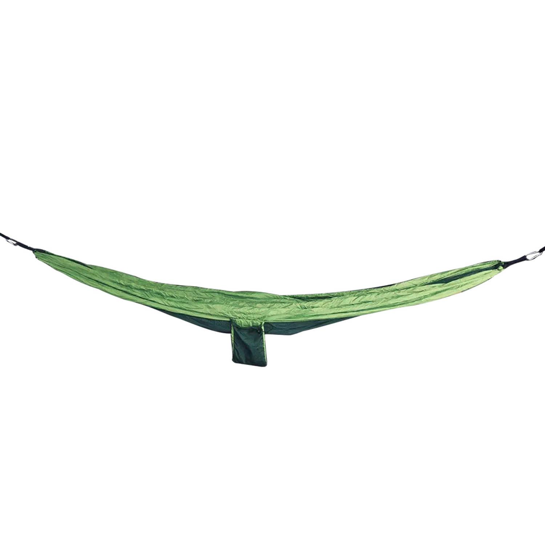 4gardenz Nylon Hangmat Groen 270x150 Cm Met Ophangset - Max. 200 Kg