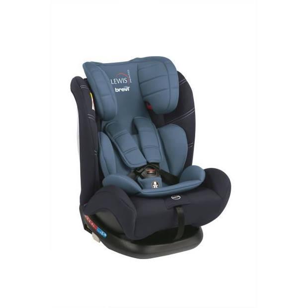 BREVI Lewis Isofix Top Tether Group 0+ autostoel 1 2 3 - 0-36 kg - Blauw