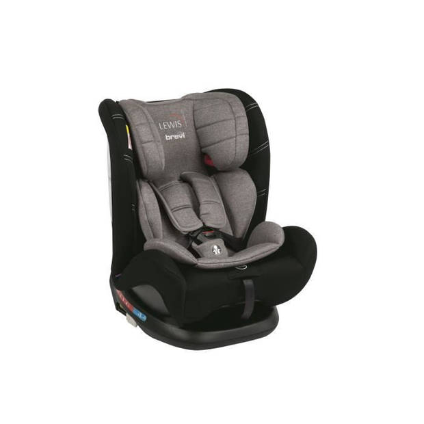 BREVI Lewis Isofix Top Tether Group 0+ autostoel 1 2 3 - 0-36 kg - Grey mix