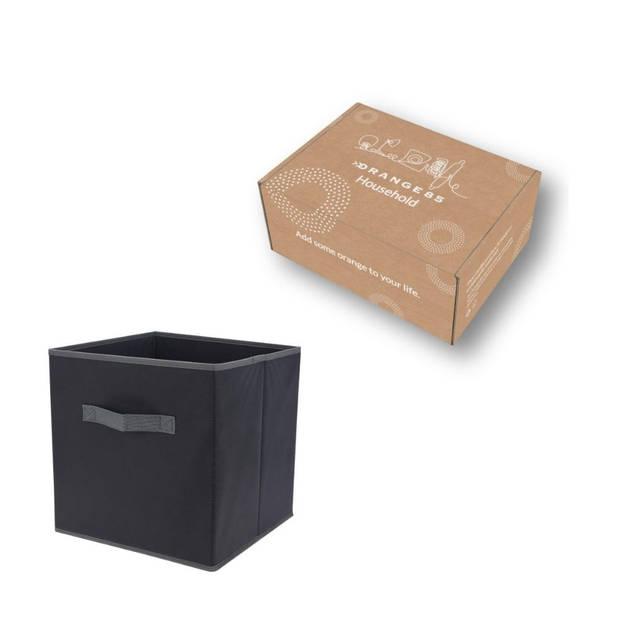 Orange85 Opbergbox Opbergdoos 30 cm Grijs