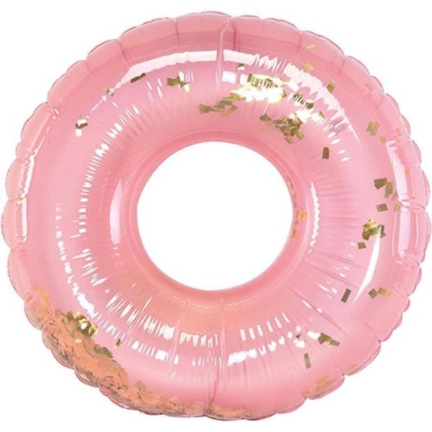Orange85 Zwemband Roze met Goud 110cm