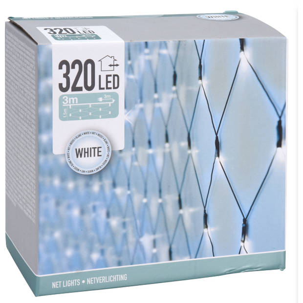 Home & Styling netverlichting 160 led 300 cm groen