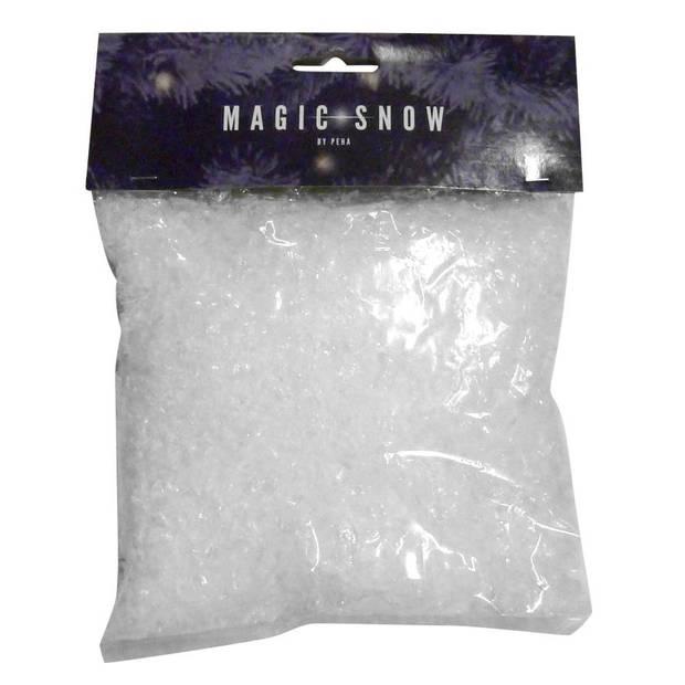 Peha sneeuwvlokken iriserend 50 gram wit