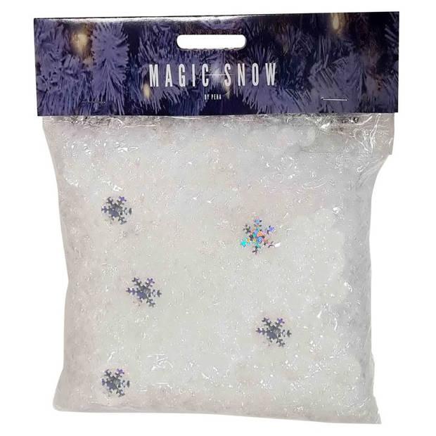 Peha sneeuwvlokconfetti 85 gram wit