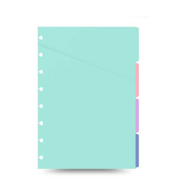 Filofax tabbladen A5 junior 21 x 14,8 cm 4 stuks