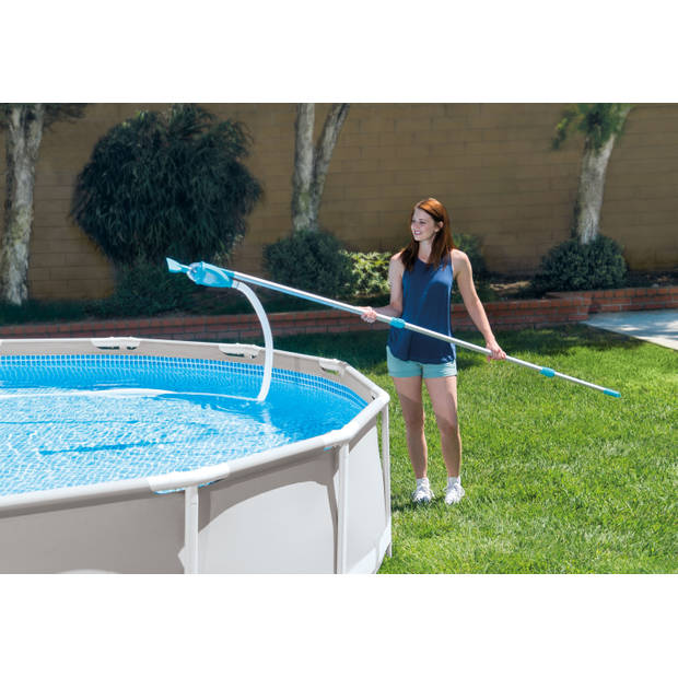 Intex Frame Pool Rechthoekig 300x200x75 cm - 8-delig - Alles in 1 Zwembad Pakket