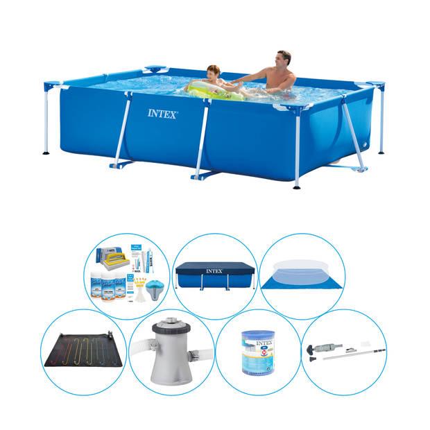 Intex Frame Pool Rechthoekig 260x160x65 cm - Zwembad Deal
