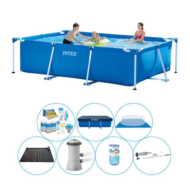 Intex Frame Pool Rechthoekig 300x200x75 cm - Zwembad Deal