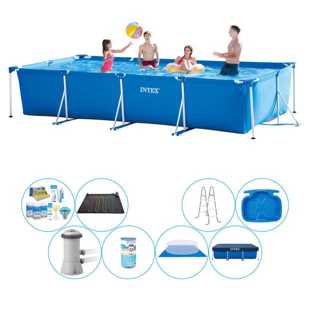 Intex Frame Pool Rechthoekig 450x220x84 cm - Zwembad Super Deal