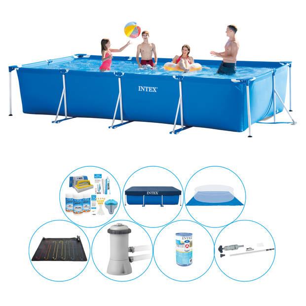 Zwembad Plus Accessoires - Intex Frame Pool Rechthoekig 450x220x84 cm
