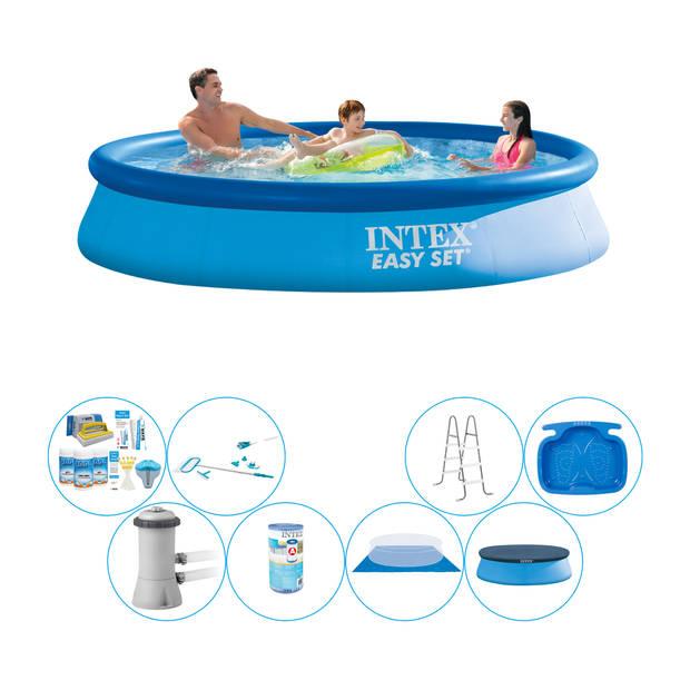 Intex Easy Set Rond 366x76 cm - Alles in 1 Zwembad Pakket