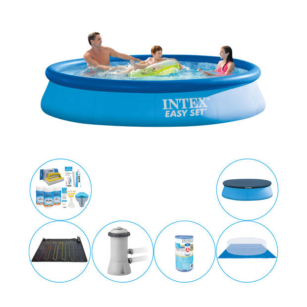 Zwembad Combi Deal - Intex Easy Set Rond 366x76 cm