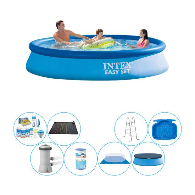 Zwembad Bundel - Intex Easy Set Rond 366x76 cm
