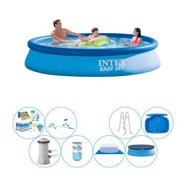 Zwembad Comfort Pakket - Intex Easy Set Rond 366x76 cm
