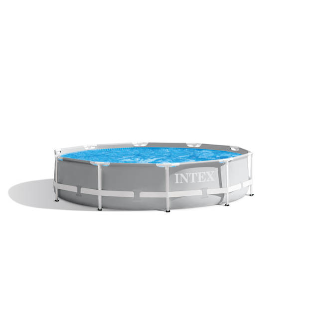 Zwembad Combi Deal - Intex Prism Frame Rond 305x76 cm