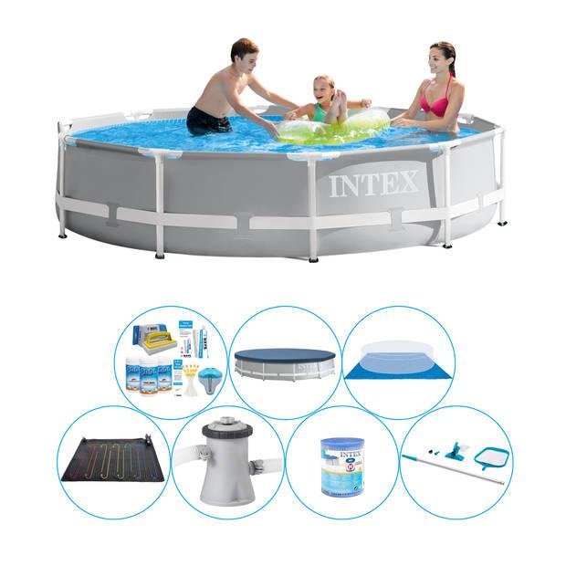 Zwembad Pakket - Intex Prism Frame Rond 305x76 cm