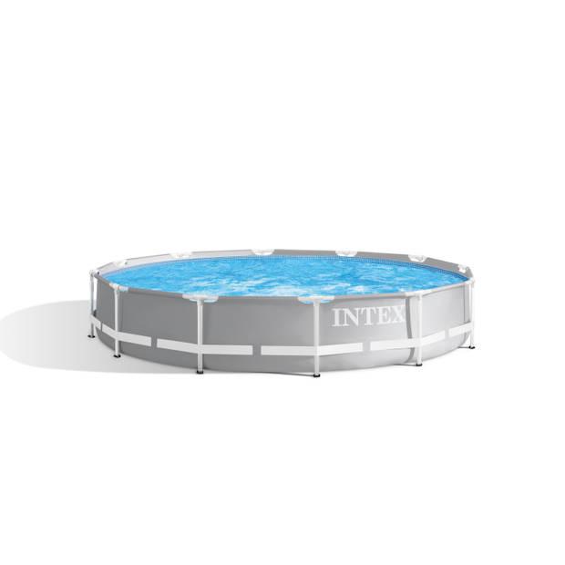 Zwembad Met Accessoires - Intex Prism Frame Rond 366x76 cm