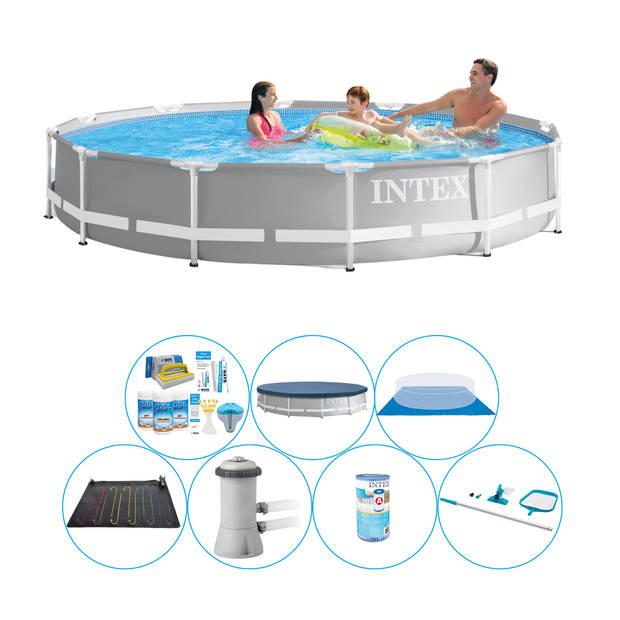 Zwembad Pakket - Intex Prism Frame Rond 366x76 cm