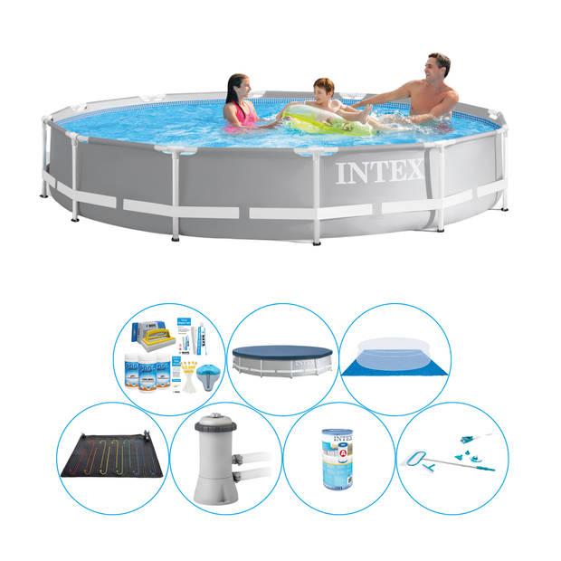 Zwembad Set - Intex Prism Frame Rond 366x76 cm