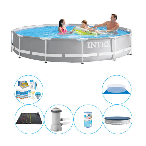 Zwembad Plus Accessoires - Intex Prism Frame Rond 366x76 cm